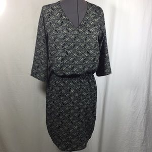 ReneeC. 3/4 Sleeve Dress  Size Small